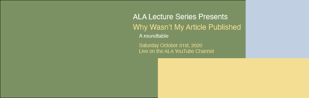 ALA Lecture Series - Roundtable