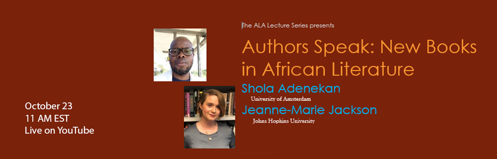 ALA Lecture Series - Oct 23 2021